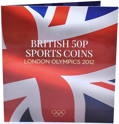 2012 London OLYMPIC Games 50p Collectors Coin Album for 30 Coins SMALL