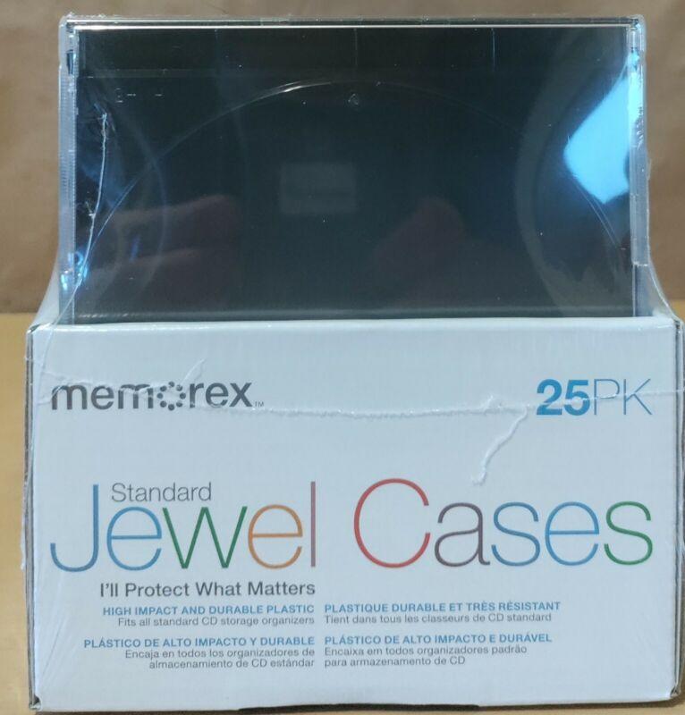 Memorex Standard Jewel Cases CD Of 25 PK