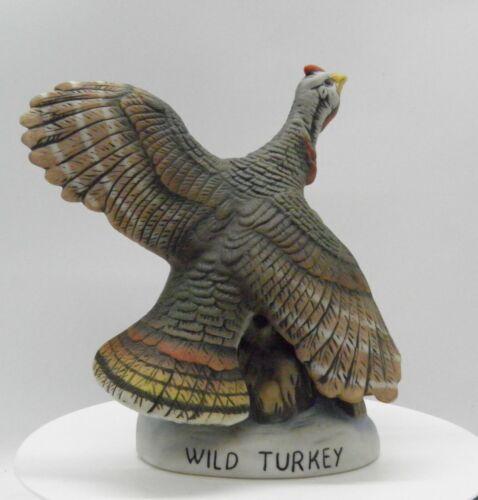 1983 WILD TURKEY Decanter Flying Wild Turkey No 1. Austin Nichols SEE VIDEO!