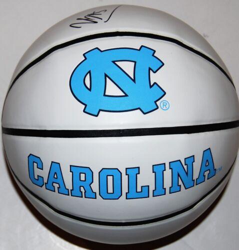 NASSIR LITTLE signed (UNC NORTH CAROLINA TAR HEELS) F/S logo basketball W/COA C