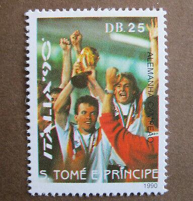 S. TOMÉ E PRINCIPE - ITALIA '90 - ALEMANHA CAMPEÃO - Db...