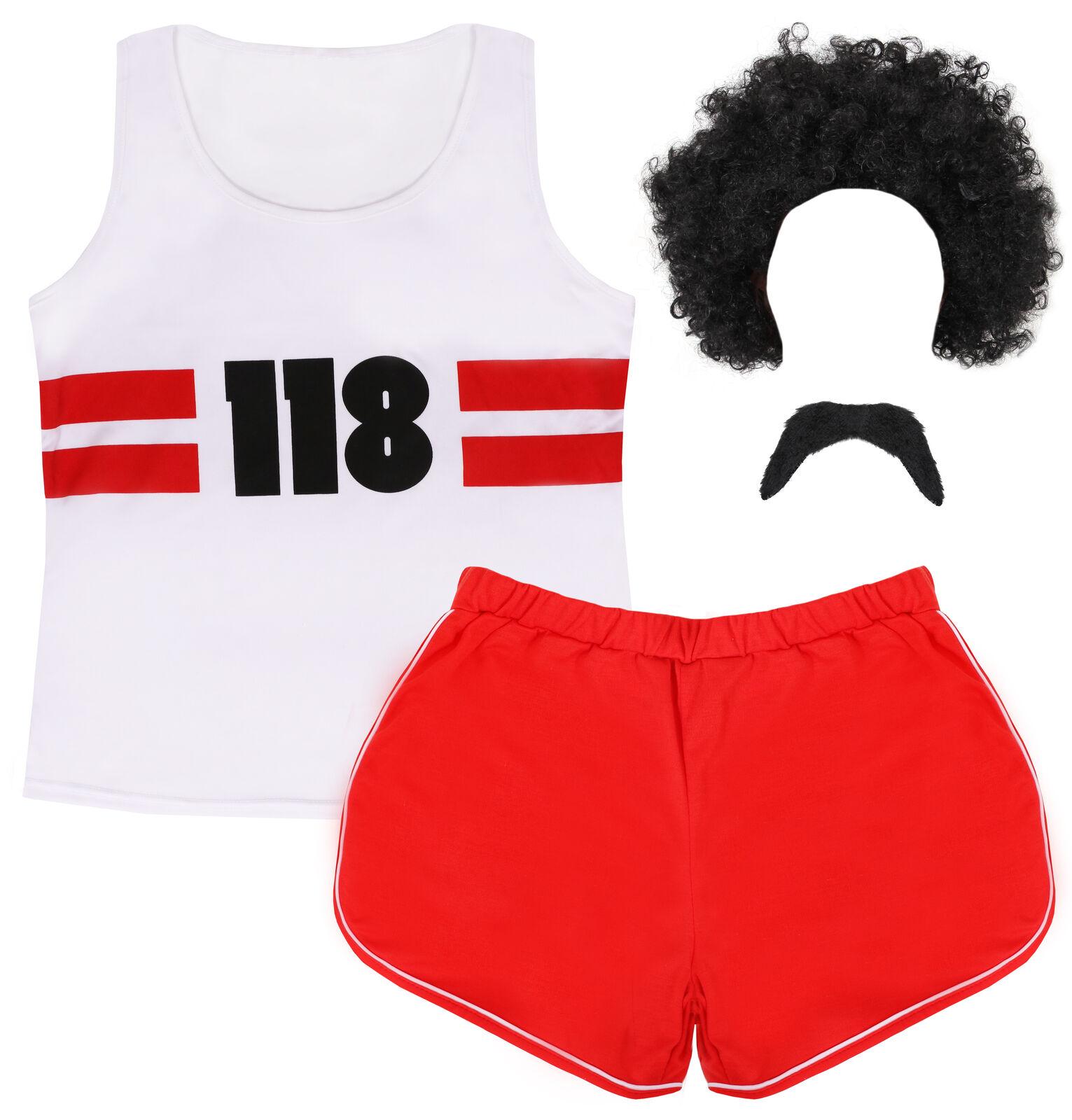 75 Men/'s Fancy Dress 118 Costume TV Advert Fun Run Marathon Outfit Stag Hen
