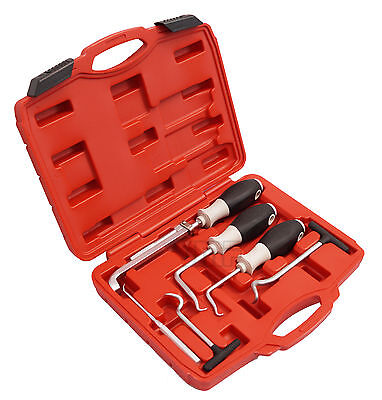 Juego de herramientas ganchos para quitar retenes y juntas, 6 piezas -...