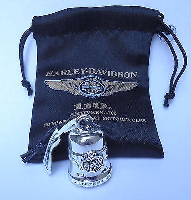 HARLEY DAVIDSON 110TH ANNIVERSARY ANNIVERSARY RIDE BELL