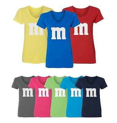 Favorite Halloween Costumes (M&M Halloween Costume M and M Costumes Favourite Womens Vneck)