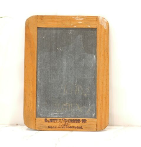 Vintage Chalk Board Slate Made in Portugal Small