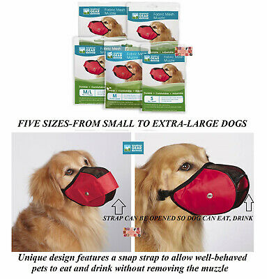 Guardian Gear No Bite Hundemaulkorb Komfort Netzmaterial