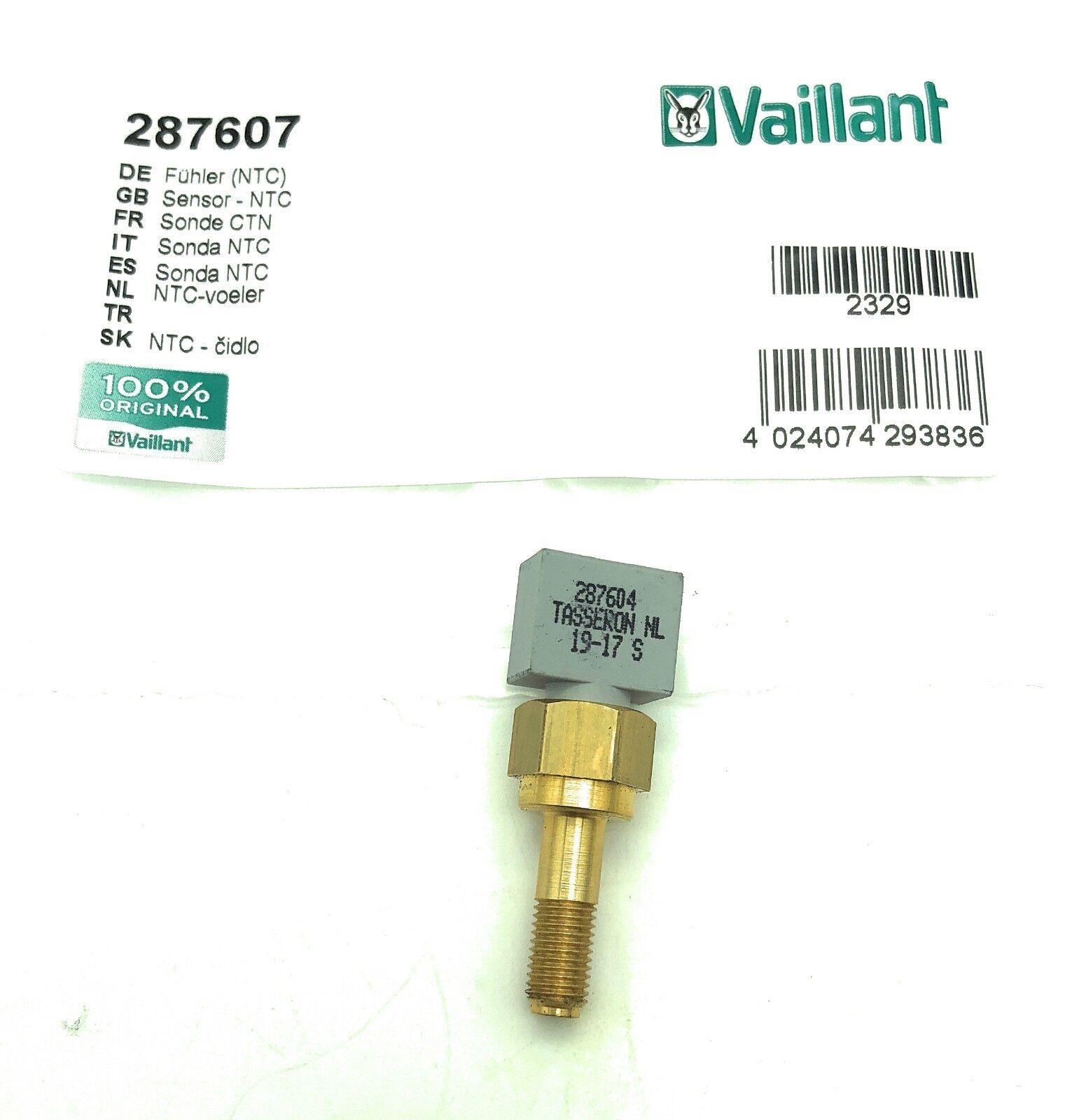 2 x Vaillant NTC 287607 Temperaturfühler 28-7607 VC  VCW 126 196 246 287604
