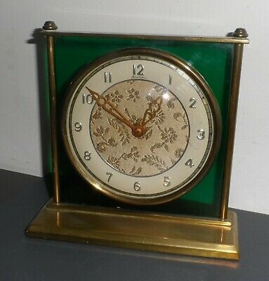 Vintage Bentima Brass Framed Mantel Clock