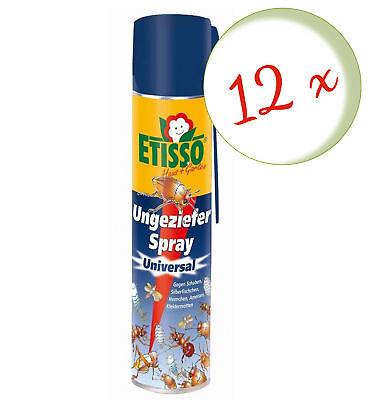 Sparset: 12 X Frunol Delicia Etisso Ungeziefer-Spray, 400 ML - Also Against Wesp