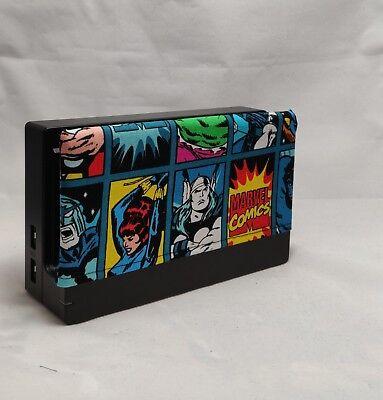Nintendo Switch Dock Cover - Dock Sock- Screen Protector - Marvel Avengers Cover