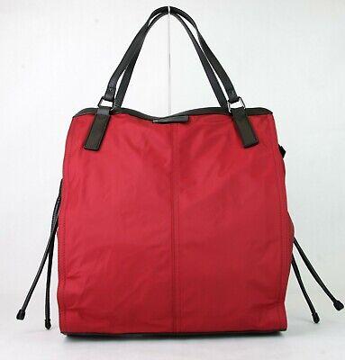 Burberry Militar Rojo Nylon Plegable Pequeño Buckleleigh Bolsa 3515997