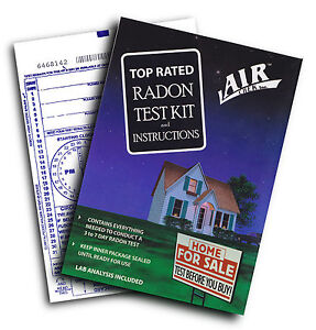 Air Chek Radon Gas Test Kit /Detector ~NO $30 lab fees~