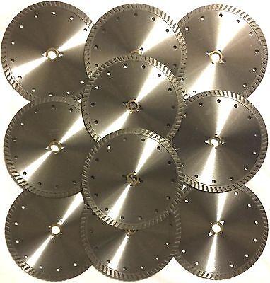 7 10 Pcsturbo Concrete Brick Block Tile Asphalt Diamond Saw Blade 58-dm-best