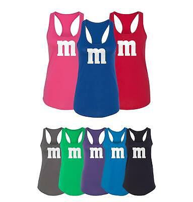 Favorite Halloween Costumes (M&M Halloween Costume M and M Costumes Favourite Women's Racerback Tank)
