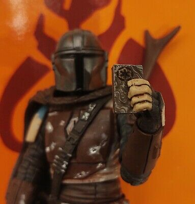 "Star Wars The Mandalorian ""Black Series"" Real Metal Beskar 4pc Set for 6"" Figure"