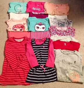 Bundle of toddler girl clothes, size 3T