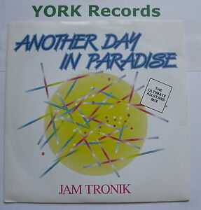 JAM-TRONIK-Another-Day-In-Paradise-Excellent-Con-7-Single-Debut-DEBT-3093