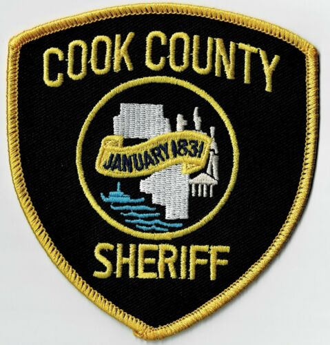 ILLINOIS COOK COUNTY SHERIFF -SEW ON SHOULDER PATCH