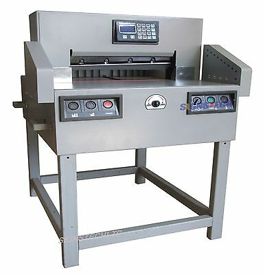 650mm Programmable Paper Guillotine Cutter Cutting Machinece25.6 Stack