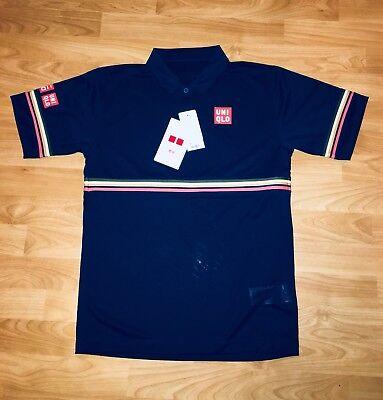 UNIQLO × Kei Nishikori Tennis Polo Shirt 2018 Christphe Lemaire Size XS BNWT