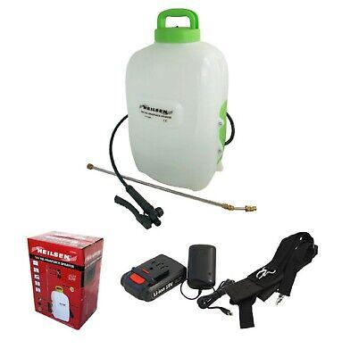 16L Cordless Rechargeable Electric Garden Knapsack Sprayer