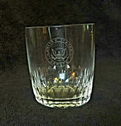 Official United States Senate Drinking Glass Etched Seal Tumbler
