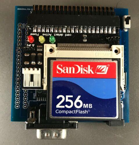 TI-99/4a CompactFlash Drive/RS232 Port - nanoPEB Version-1 w/256mb SanDisk
