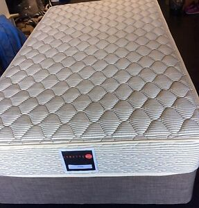 2x Spring firm mattress and base KING single , delivery available Melbourne CBD Melbourne City Preview