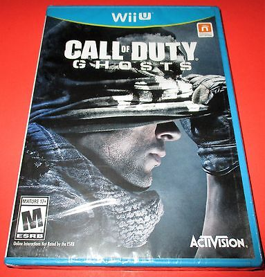 Call of Duty: Ghosts Nintendo Wii U *Factory Sealed! *Free (Call Of Duty Ghosts Nintendo Wii U)
