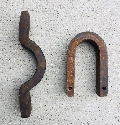 Rustic Railroad Track Bolt Industrial Salvage Iron Bolt Ohio Valley Antique Railroad Bolt Free Shipping