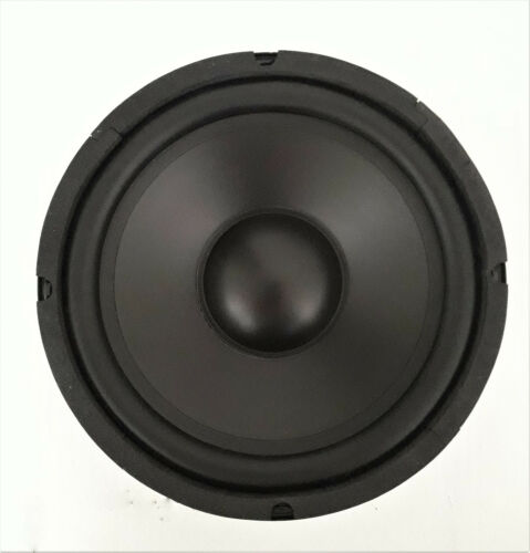 "8"" Poly Cone Rubber Surround Woofer 8 ohms - ONE PAIR - NEW"