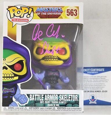 Alan Oppenheimer Signed Skeletor Funko Pop Motu Autograph Beckett Bas Coa 456