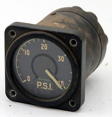 Sangamo fuel pressure indicator reading 0-40 psi (GD3)