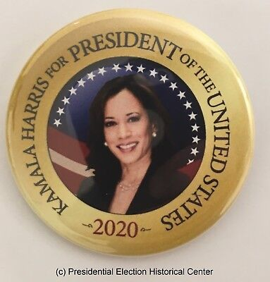 Kamala Harris For President Of The United States Campaign Button  Harris 706