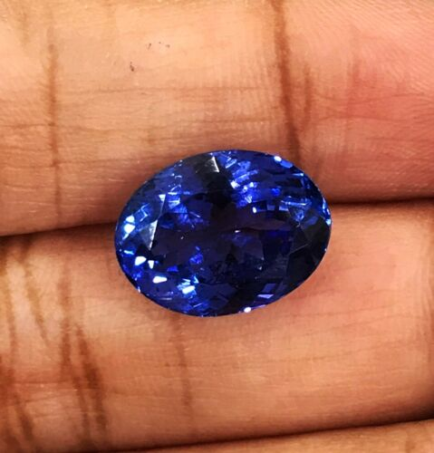 8.12Cts AAA Color Top Luster Natural Purple Blue Tanzanite Loose Gemstone