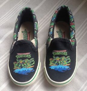 Vintage Ninja Turtles Shoes Toddler Size 7