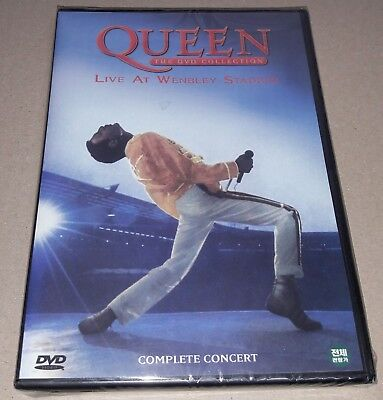 Queen : Live At Wembley Stadium Complete Concert / DVD SEALED