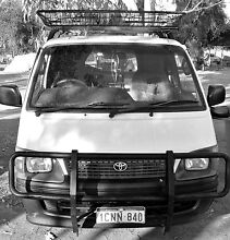 Toyota Hiace backpackervan Parramatta Park Cairns City Preview
