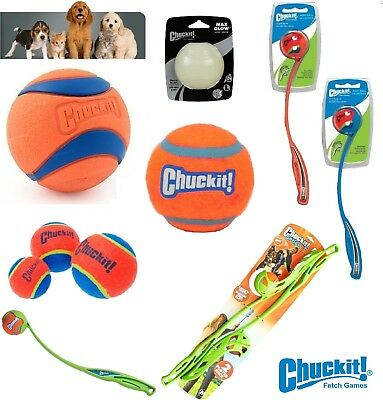 (CHUCKIT BALL THROWER LAUNCHER  DOG TOY FLOATING FETCH SPORT TENNIS GAME CHUCK IT)