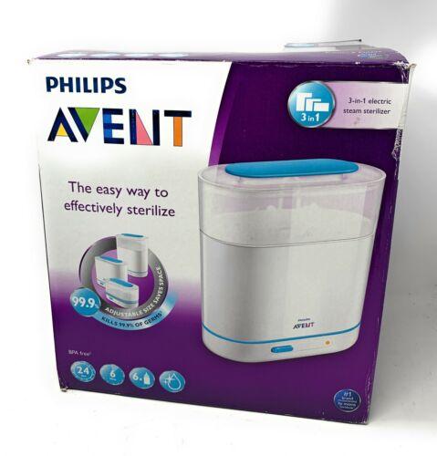 Philips Avent SCF284/05 3-in-1 Electric Steam Sterilizer Open Box