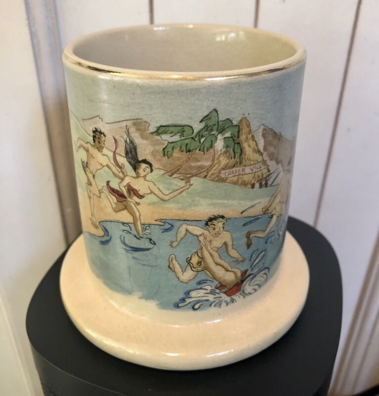 1963 Original Trader Vics Ceramic Mug