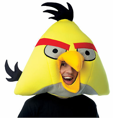 Rovio Angry Birds Yellow Bird Adult Mask Costume Color Theme Party IPAD2 Games](Games Angry Birds Halloween 2)