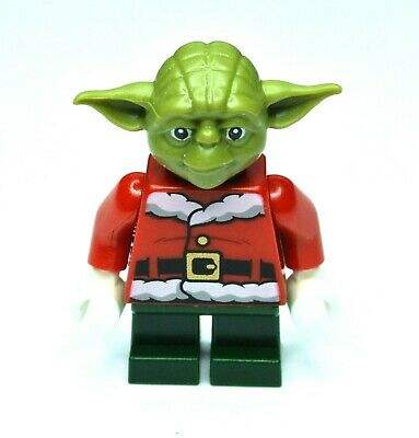 Lego Star Wars Master Yoda minifigure sw1071 from 2019 Exclusive Christmas set!!