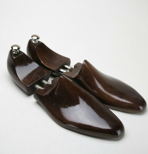 New Stained Hardwood Beech Semi-Lasted Shoe Trees  MSRP $60  Size 14 15 16