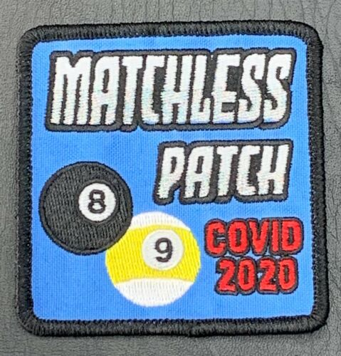 2020 Billiards Pool Matchless Patch 8-Ball / 9-Ball