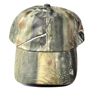 Longleaf Camouflage Hat Strap Back Green Adult Adjustable Embroidered Deer 4be1cd6cc299