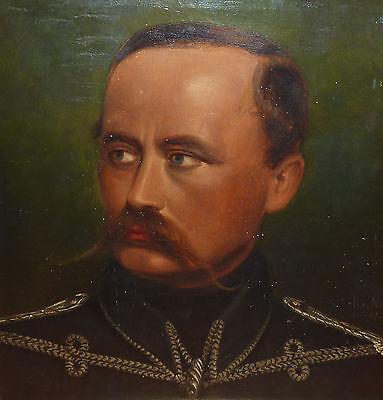 Militaria Russischer Husar Biedermeier Gemälde R. von Norman Düsseldorf Russland