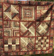 Handmade Pure Cotton Patchwork Quilt Frankston Frankston Area Preview