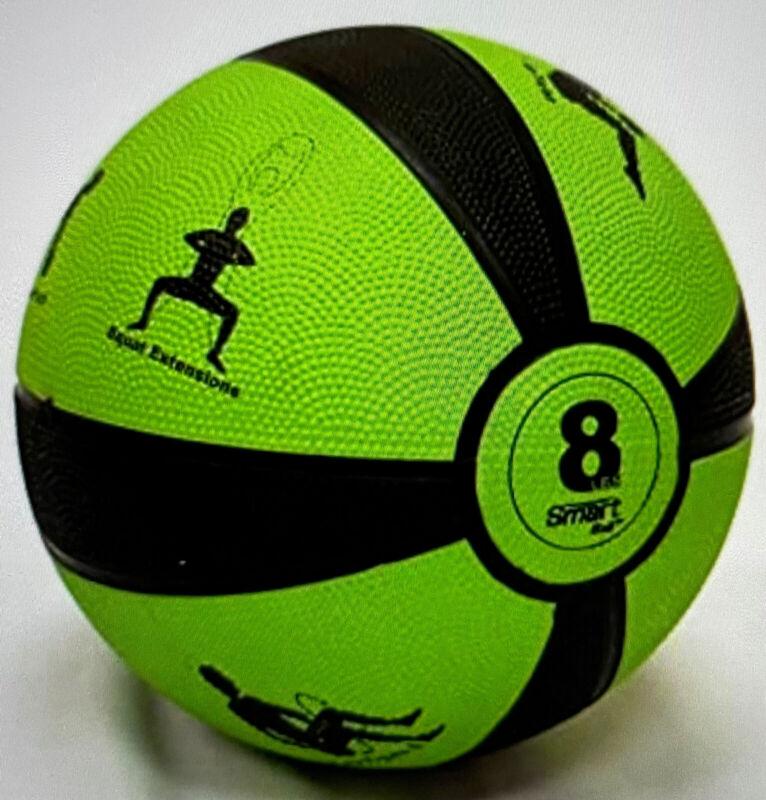 Prism Smart Medicine Ball 8 lb - Green - Self-Guided